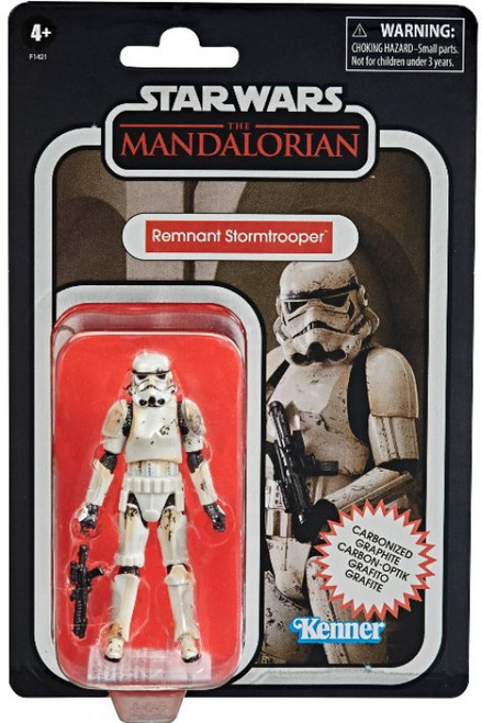 Star Wars The Mandalorian Vintage Collection Remnant Stormtrooper Exclusive Action Figure [Carbonized] (Pre-Order ships January)
