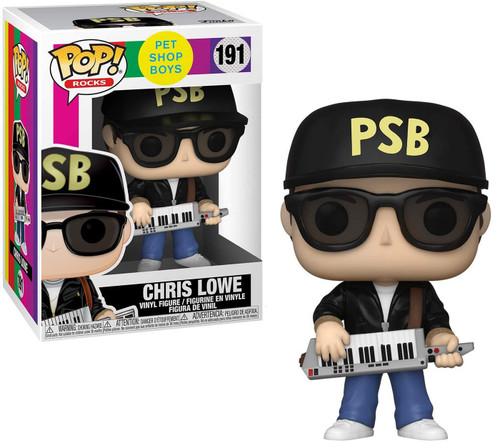 Funko Pet Shop Boys POP! Rocks Chris Lowe Vinyl Figure #191