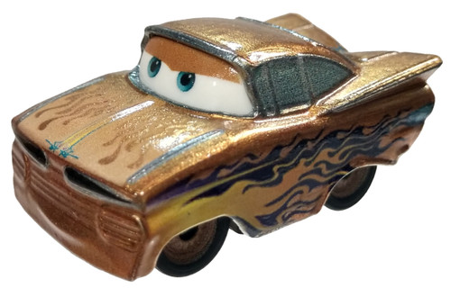 "Disney / Pixar Cars Metal Mini Racers ""Golden"" Ramone Die Cast Car [Loose]"