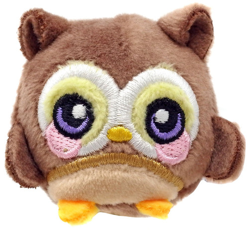 Squeezamals Series 3 Monty Owl 1.5-Inch Micro Plush
