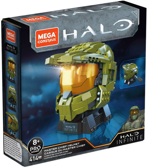 Halo Infinite Master Chief Helmet Exclusive Set