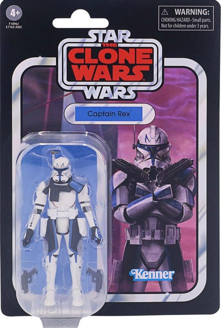 Star Wars The Clone Wars Vintage Collection Captain Rex Action Figure (Pre-Order ships January)