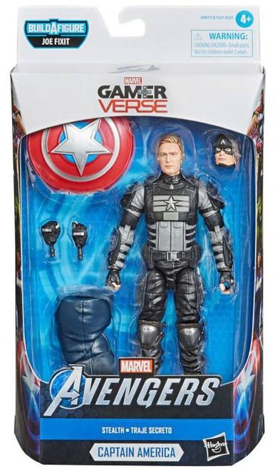 Gamerverse Marvel Legends Joe Fixit Series Captain America Action Figure [Black Costume]