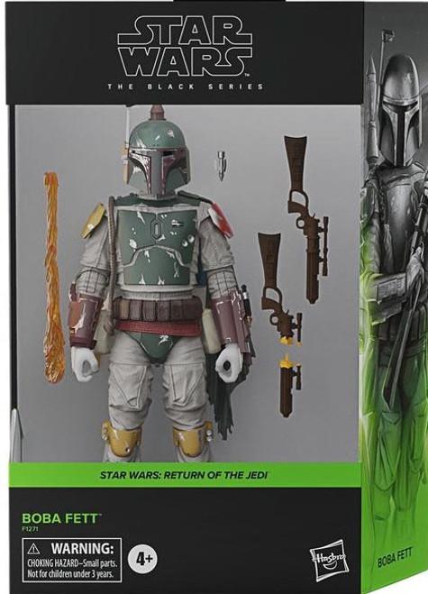 Star Wars Return of the Jedi Black Series Boba Fett Deluxe Action Figure (Pre-Order ships March)