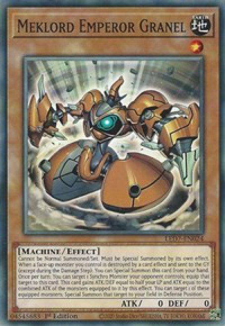 YuGiOh Legendary Duelists: Rage of Ra Common Meklord Emperor Granel LED7-EN024
