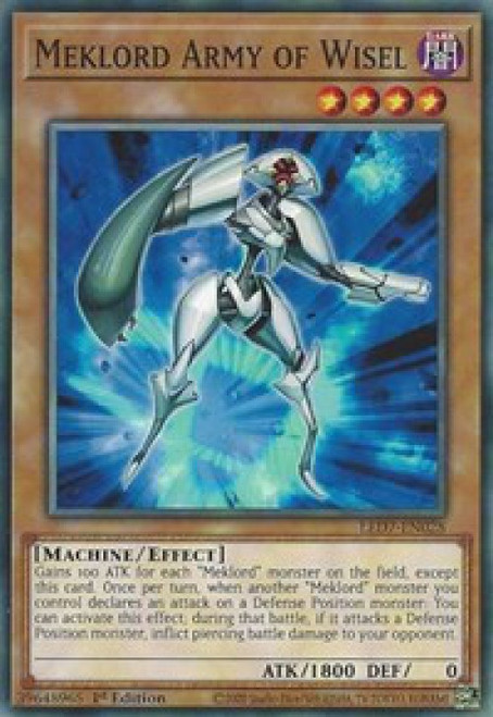 YuGiOh Legendary Duelists: Rage of Ra Common Meklord Astro Dragon Asterisk LED7-EN027