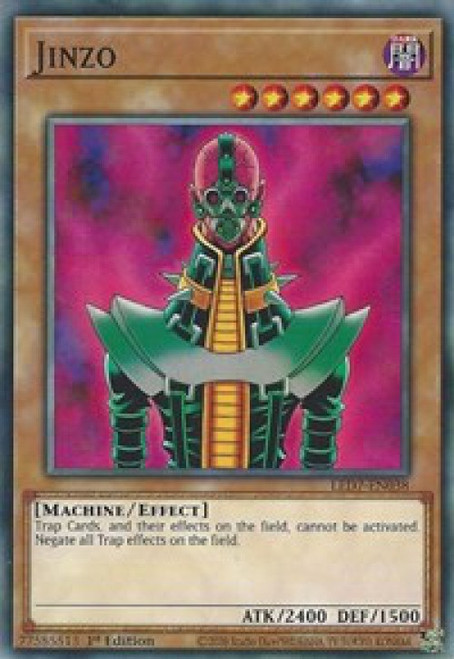 YuGiOh Legendary Duelists: Rage of Ra Common Jinzo LED7-EN038