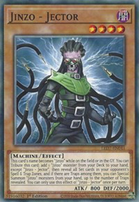 YuGiOh Legendary Duelists: Rage of Ra Common Jinzo - Jector LED7-EN041