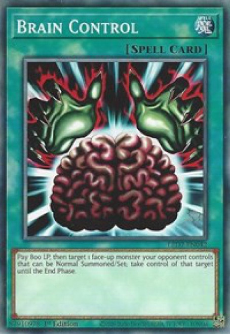 YuGiOh Legendary Duelists: Rage of Ra Common Brain Control LED7-EN042