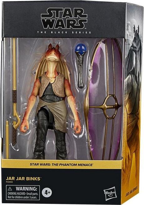 Star Wars Phantom Menace Black Series Jar Jar Binks Deluxe Action Figure