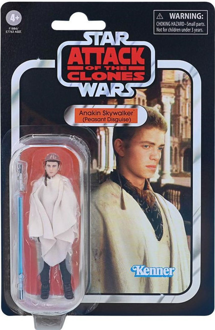 Star Wars Attack of the Clones 2020 Vintage Collection Wave 5 Anakin Skywalker Action Figure VC32 [Peasant Disguise]