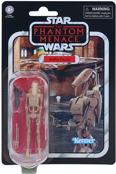 Star Wars The Phantom Menace Vintage Collection Battle Droid Action Figure VC78 (Pre-Order ships February)