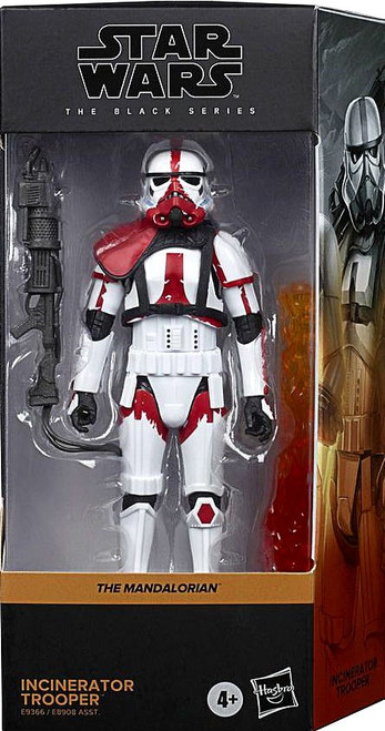 Star Wars The Mandalorian Black Series Incinerator Trooper Deluxe Action Figure (Pre-Order ships January)