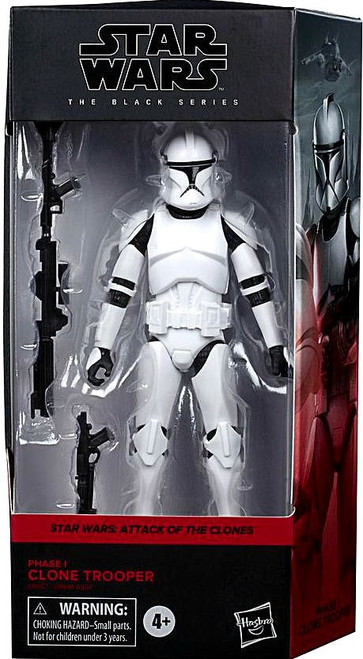 Star Wars The Clone Wars Black Series Phase 1 Clone Trooper Deluxe Action Figure (Pre-Order ships October)