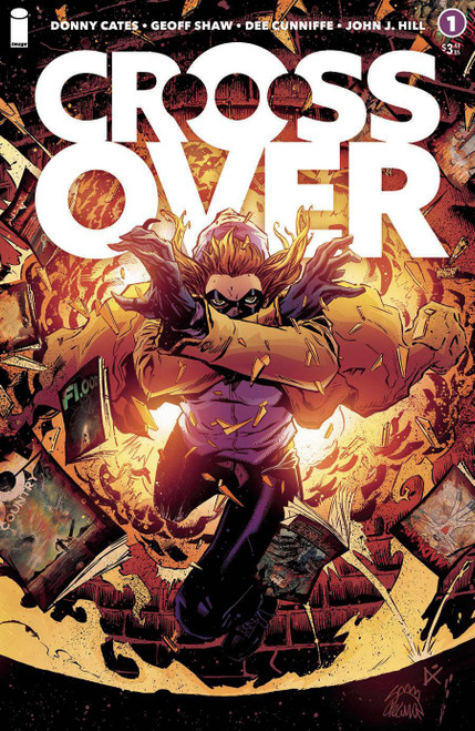 Image Comics Crossover #1 Comic Book [Ryan Stegman & Dee Cunniffe Variant Cover]