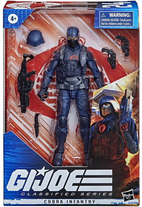 GI Joe Classified Series Wave 4 Cobra Infantry Action Figure (Pre-Order ships April)