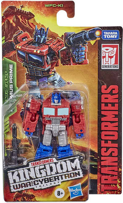 Transformers Generations Kingdom: War for Cybertron Trilogy Optimus Prime Core Action Figure