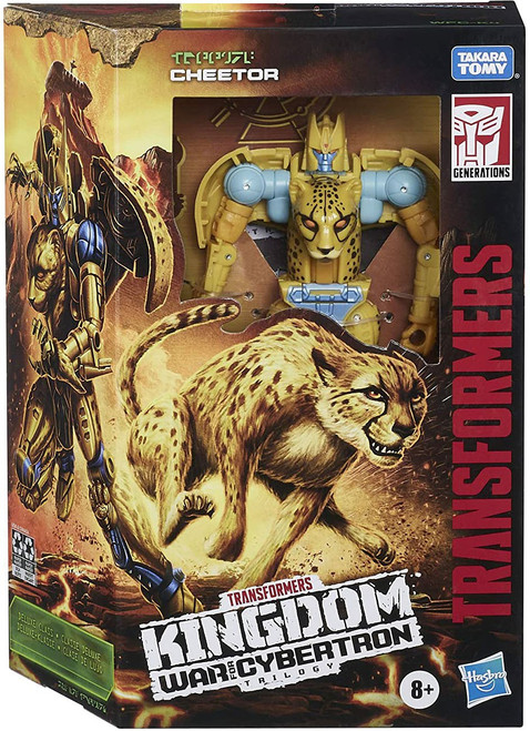 Transformers Generations Kingdom: War for Cybertron Trilogy Cheetor Deluxe Action Figure WFC-K4