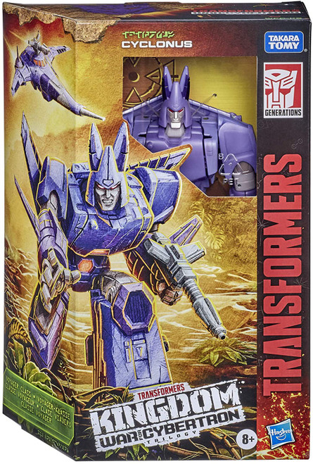 Transformers Generations Kingdom: War for Cybertron Trilogy Cyclonus Voyager Action Figure WFC-K9