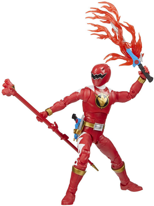 Power Rangers Dino Thunder Lightning Collection Red Ranger Action Figure