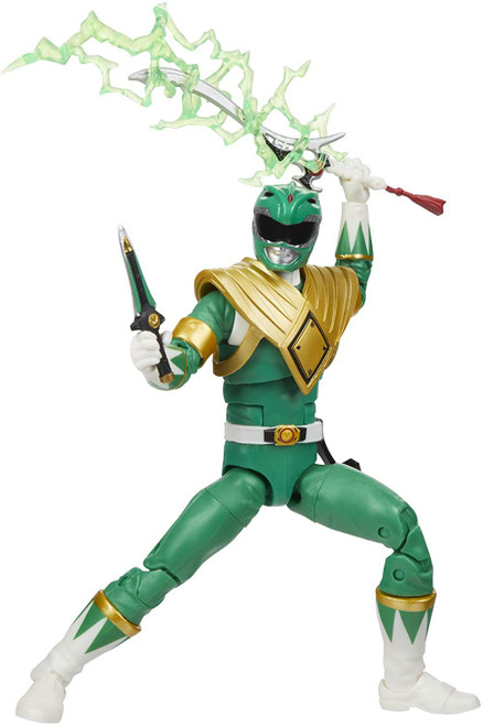 Power Rangers Mighty Morphin Lightning Collection Green Ranger Action Figure