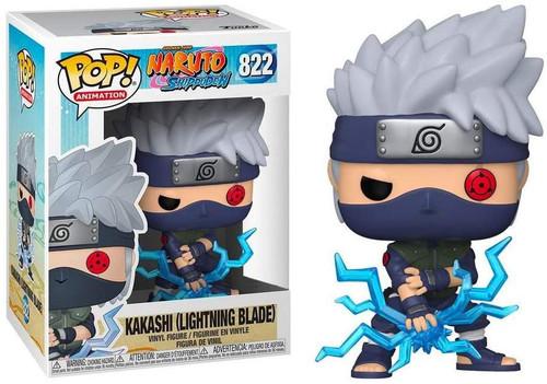 Funko Naruto POP! Anime Kakashi (Lightning Blade) Exclusive 6-Inch Vinyl Figure #822
