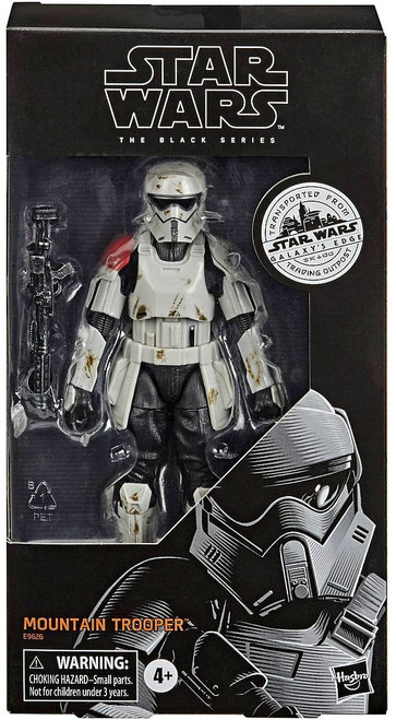 Star Wars Galaxy's Edge Black Series Mountain Trooper Exclusive Action Figure