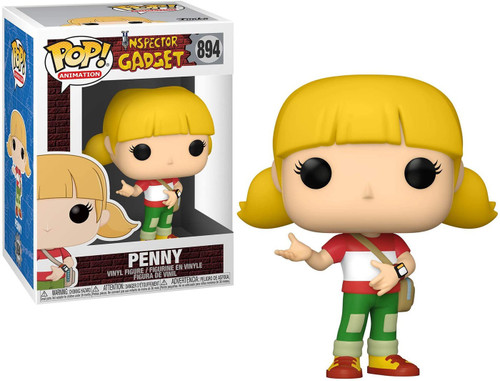 Funko Inspector Gadget POP! Animation Penny Vinyl Figure #894 (Pre-Order ships February)