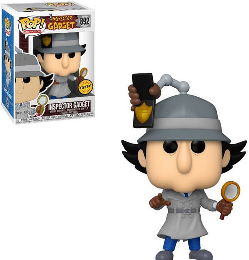 Funko POP! Animation Inspector Gadget Vinyl Figure #892 [Chase Version]