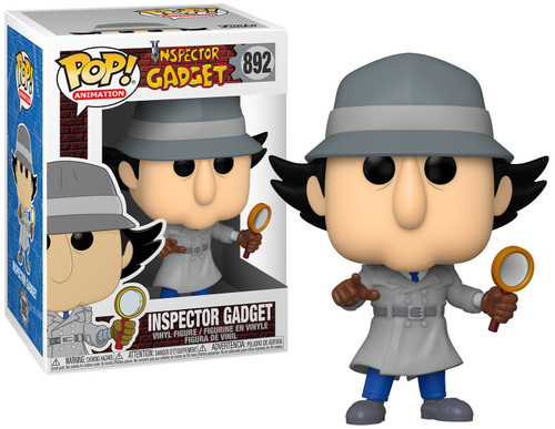 Funko POP! Animation Inspector Gadget Vinyl Figure #892 [Regular Version] (Pre-Order ships January)