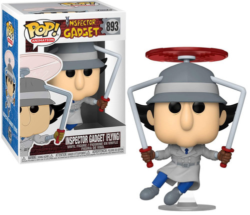 Funko POP! Animation Inspector Gadget Vinyl Figure #893 [Flying] (Pre-Order ships February)