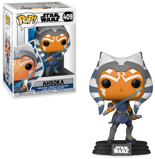 Funko The Clone Wars POP! Star Wars Ahsoka Vinyl Bobble Head #409 (Pre-Order ships April)