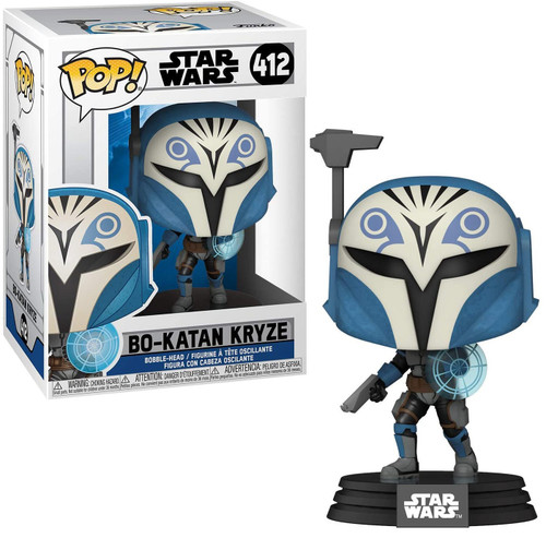 Funko The Clone Wars POP! Star Wars Bo-Katan Kryze Vinyl Bobble Head #412