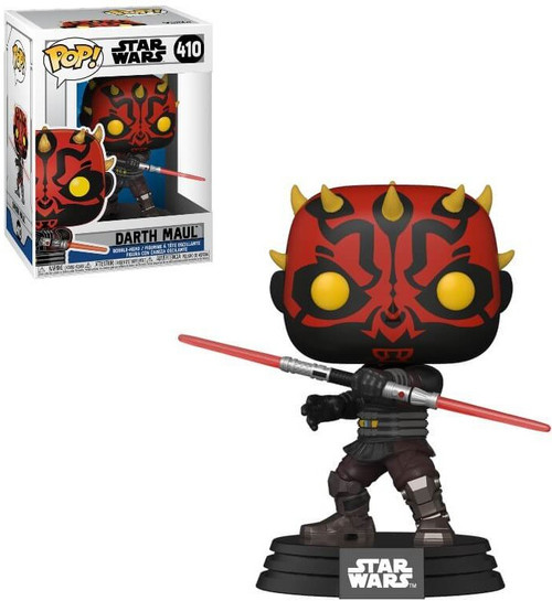 Funko The Clone Wars POP! Star Wars Darth Maul Vinyl Bobble Head #410