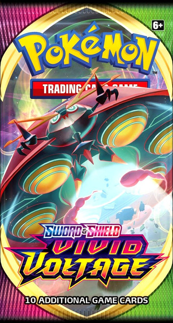 Pokemon Trading Card Game Sword & Shield Vivid Voltage Booster Pack [10 Cards]