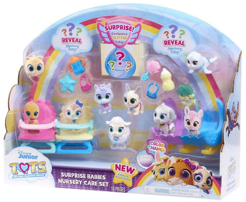 Disney Junior TOTS (Tiny Ones Transport Service) Surprise Babies Nursery Care Set Exclusive Figure 10-Pack [Version 4]