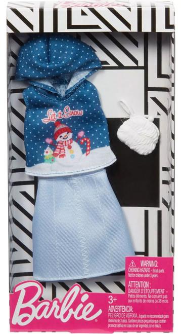 Barbie Let It Snow Fashion Pack