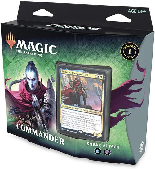 MtG Trading Card Game Zendikar Rising Commander Sneak Attack Deck