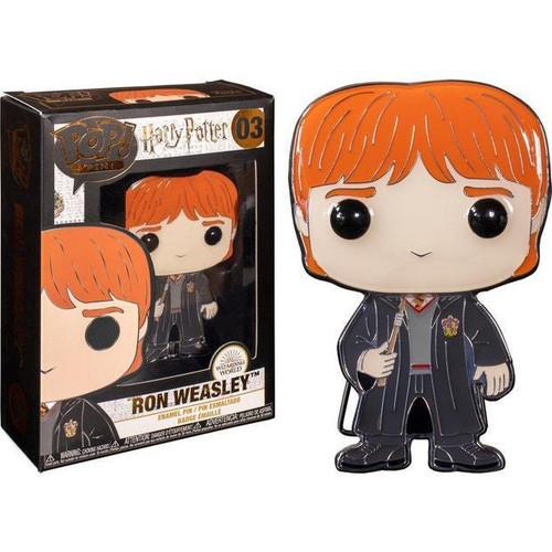 Funko Harry Potter POP! Pins Ron Weasley Large Enamel Pin #03