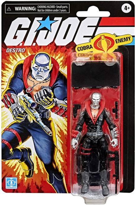 GI Joe Retro Collection Destro Exclusive Action Figure [Cobra Enemy]