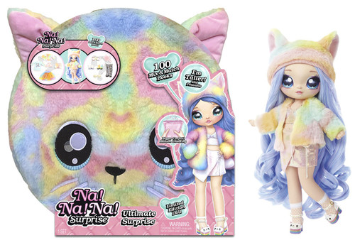 Na! Na! Na! Surprise Ultimate Surprise Rainbow Kitty Doll [Limited Edition]