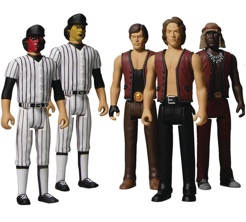 The Warriors 5 Points Swan, Ajax, Cleon & 2x Baseball Furys Action Figure 5-Pack Box Set