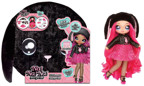 Na! Na! Na! Surprise Ultimate Surprise Black Bunny Doll [Limited Edition]