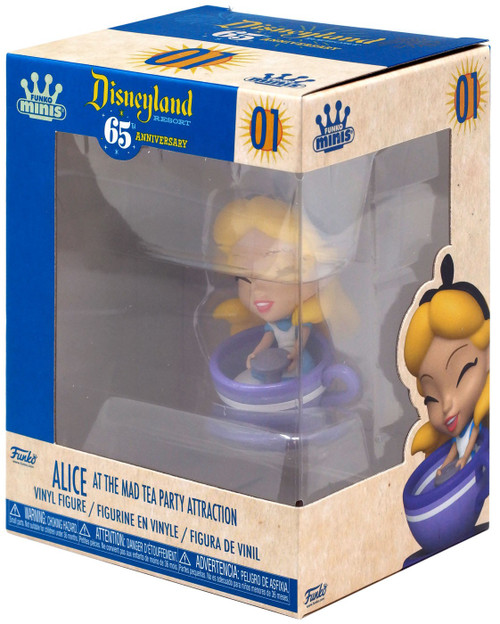 Disney 65th Anniversary Funko Minis Alice [At The Mad Tea Party]