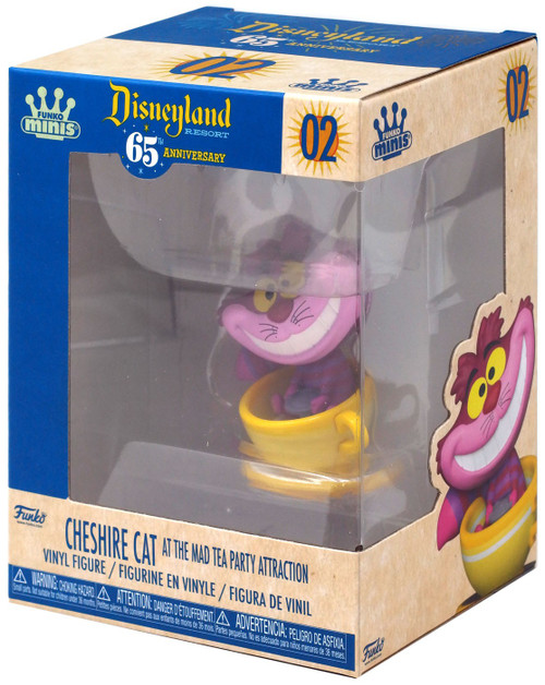 Disney 65th Anniversary Funko Minis Cheshire Cat [At The Mad Tea Party]