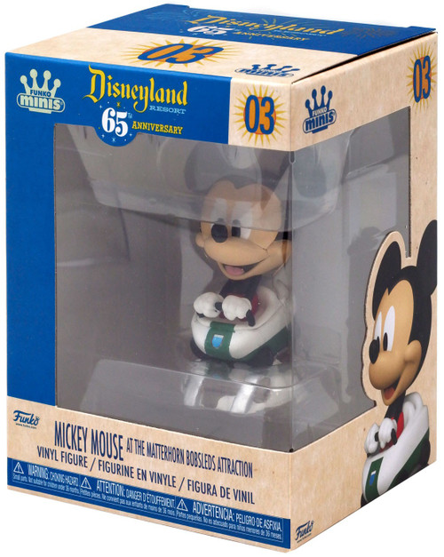 Disney 65th Anniversary Funko Minis Mickey Mouse [The Matterhorn Bobsled]