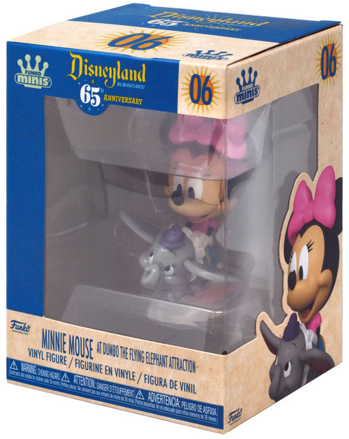 Disney 65th Anniversary Funko Minis Minnie Mouse [Dumbo the Flying Elephant]