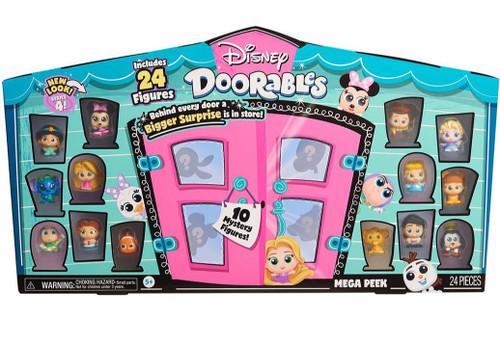 Disney Doorables Series 4 MEGA Peek Exclusive Playset [24 RANDOM Figures!]