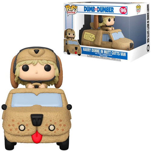 Funko Dumb & Dumber POP! Rides Harry with Mutts Cutts Van Vinyl Figure