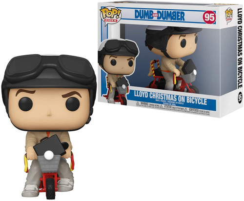 Funko Dumb & Dumber POP! Rides Lloyd with Bicycle Vinyl Figure (Pre-Order ships February)